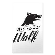 B&W Big Bad Wolf Decal