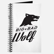 B&W Big Bad Wolf Journal