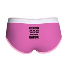 Exercise Bacon Women's Boy Brief