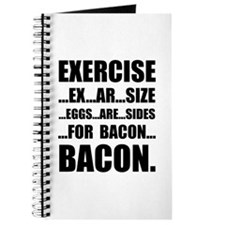 Exercise Bacon Journal