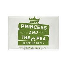 Princess & the Pea Since 1835 Rectangle Magnet