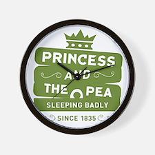 Princess & the Pea Since 1835 Wall Clock