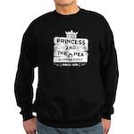 Princess & the Pea Since 1835 Sweatshirt (dark)