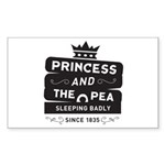 Princess & the Pea Since 1835 Sticker (Rectangle 1