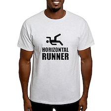 Horizontal Runner T-Shirt