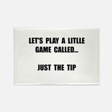Just The Tip Rectangle Magnet (100 pack)