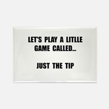 Just The Tip Rectangle Magnet (10 pack)