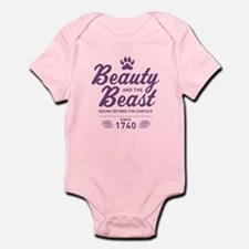 Beauty and the Beast Since 1740 Infant Bodysuit