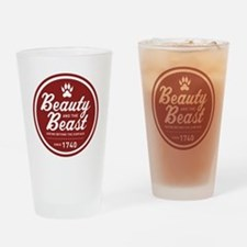 Beauty and the Beast Since 1740 Drinking Glass