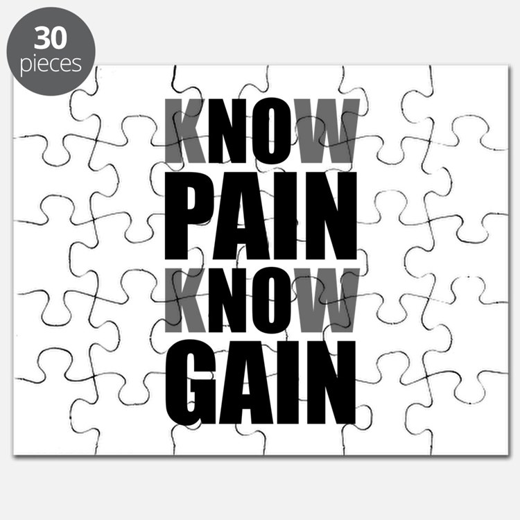 Know Pain Gain Puzzle
