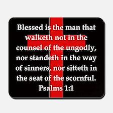 Psalms 1:1 Mousepad