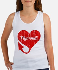 Plymouth Heart - Weathered Tank Top