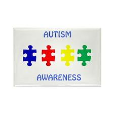 Cute Autism speaks Rectangle Magnet