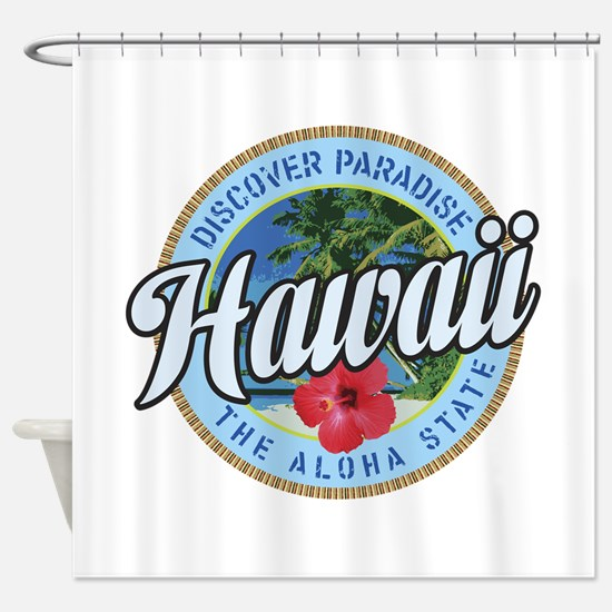 Hawaii.png Shower Curtain