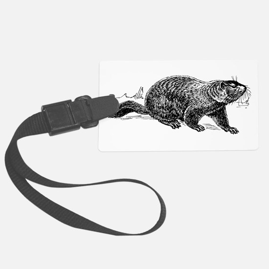 Ground Hog Day Luggage Tag