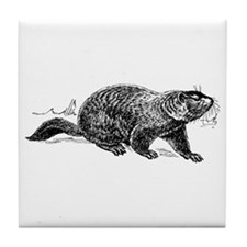 Ground Hog Day Tile Coaster