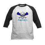 Swim Life Kids Baseball Jersey
