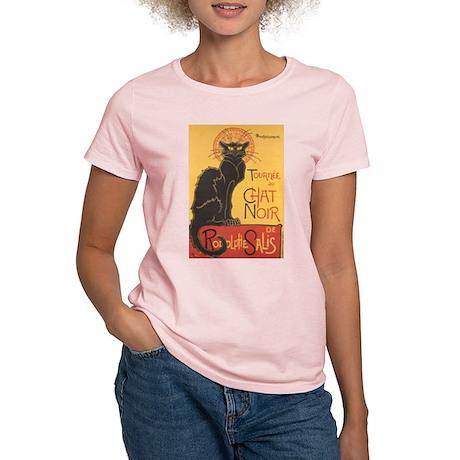 chat noir t shirt by maggiesheartvintageshoppe. Black Bedroom Furniture Sets. Home Design Ideas