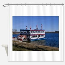 Michigans AuSable River Queen Shower Curtain