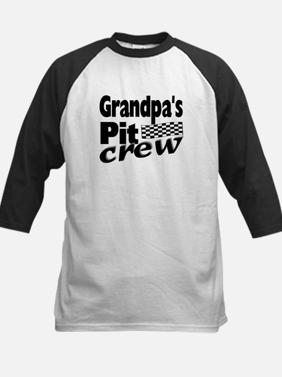 2-grandpas pit crew Baseball Jersey