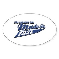 Made in 1923 Decal