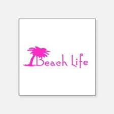 Beach Life (Pink) Sticker