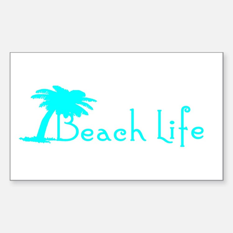 Beach Life (Turquoise) Decal