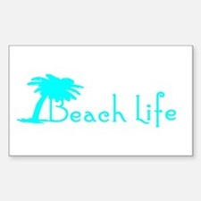 Beach Life (Turquoise) Stickers