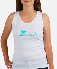 Beach Life (Turquoise) Tank Top