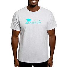 Beach Life (Turquoise) T-Shirt