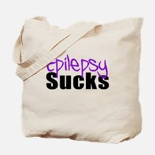 Epilepsy Sucks Tote Bag