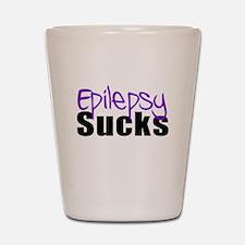 Epilepsy Sucks Shot Glass
