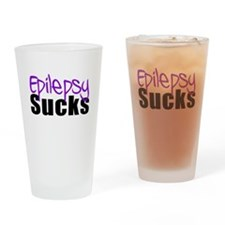 Epilepsy Sucks Drinking Glass