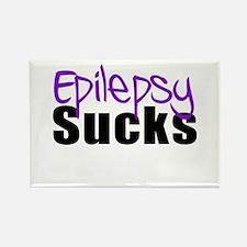 Epilepsy Sucks Rectangle Magnet
