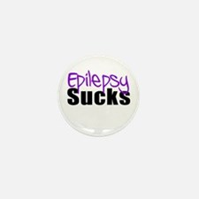 Epilepsy Sucks Mini Button (10 pack)