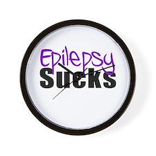 Epilepsy Sucks Wall Clock