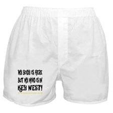 IN KEY WEST - WHITE Boxer Shorts