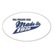 Made in 1936 Decal