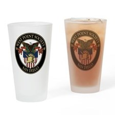 West Point Society of San Diego Drinking Glass
