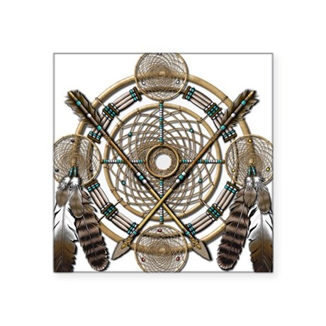 Dreamcatcher Medicine Wheel Sticker