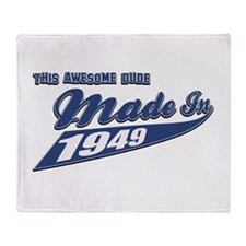 Made in 1949 Throw Blanket