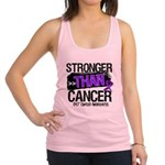 Stronger Than GIST Cancer Racerback Tank Top