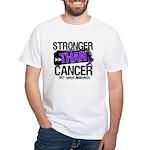 Stronger Than GIST Cancer White T-Shirt