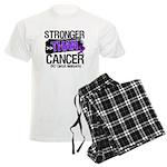 Stronger Than GIST Cancer Men's Light Pajamas