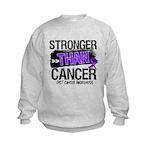 Stronger Than GIST Cancer Kids Sweatshirt