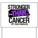Stronger Than GIST Cancer Yard Sign
