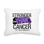 Stronger Than GIST Cancer Rectangular Canvas Pillo