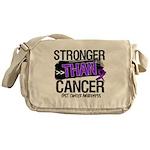 Stronger Than GIST Cancer Messenger Bag