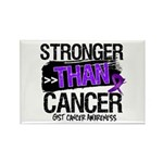 Stronger Than GIST Cancer Rectangle Magnet (10 pac