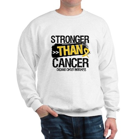 Stronger Than Childhood Cancer Sweatshirt